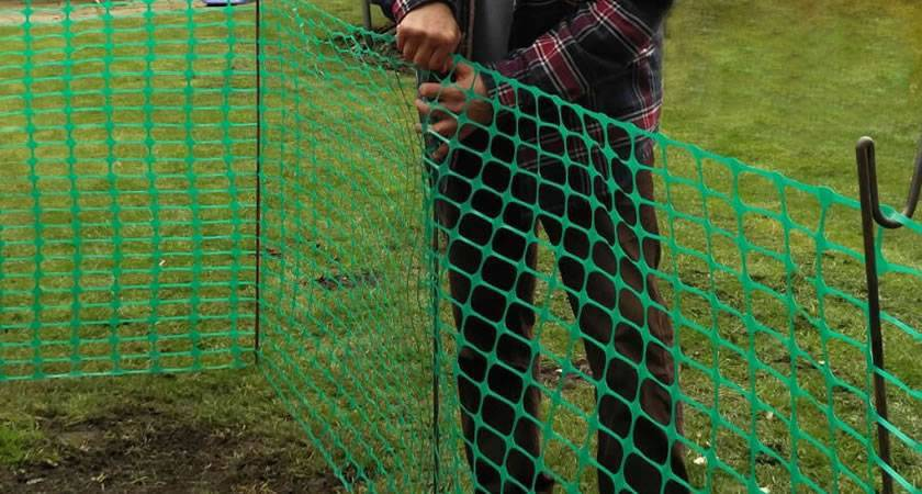 Green Barrier Safety Temporary Fencing