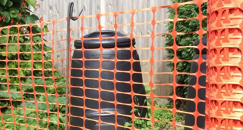 High Visible Orange Barrier Safety Temporary Fence